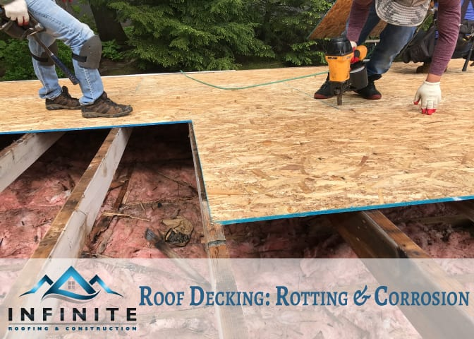 Roof Decking - Roof Rotting