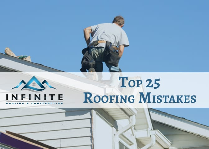 Top 25 Roofing Mistakes