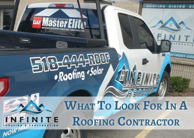 What To Look For In A Roofing Contractor